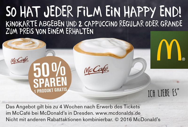 Werbung Kinokarten